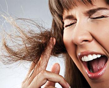 cabello dañado y maltratado