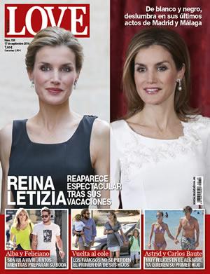 La reina letizia espectacular en la portada de la revista for Revistas de espectaculos de esta semana