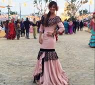 Foto de Marta González vestida por Sofía Rivera