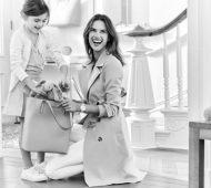 Alessandra Ambrosio y su hija posan para Michael Kors