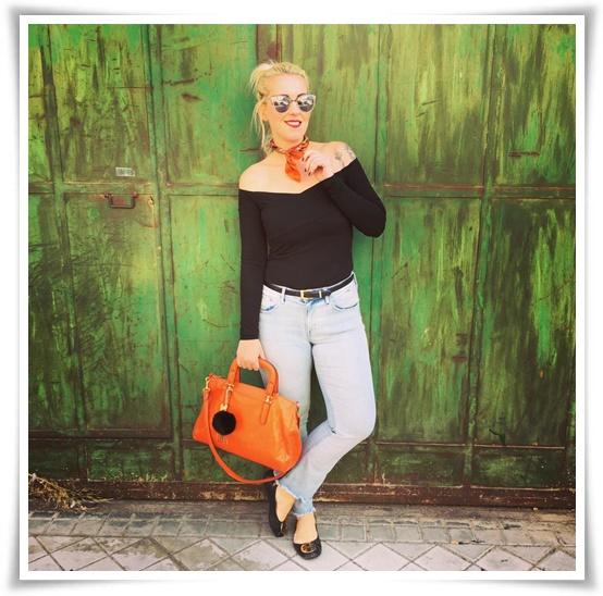 Hoy… De Modaloqllevelarubia Trae Nuestra Bloguera Nos Off Shoulders n0wOPk