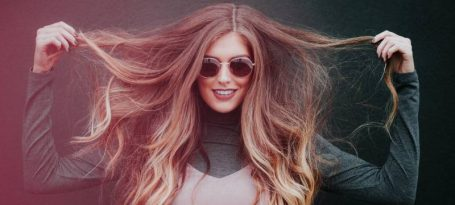 mujer pelo