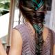 Consejos de moda y belleza: moño con trenza de cola de pescado